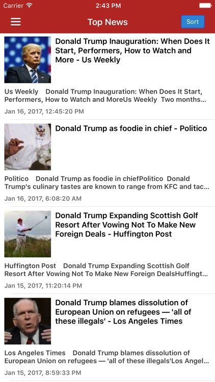 NewsSurge for Donald Trump: Latest News Pro
