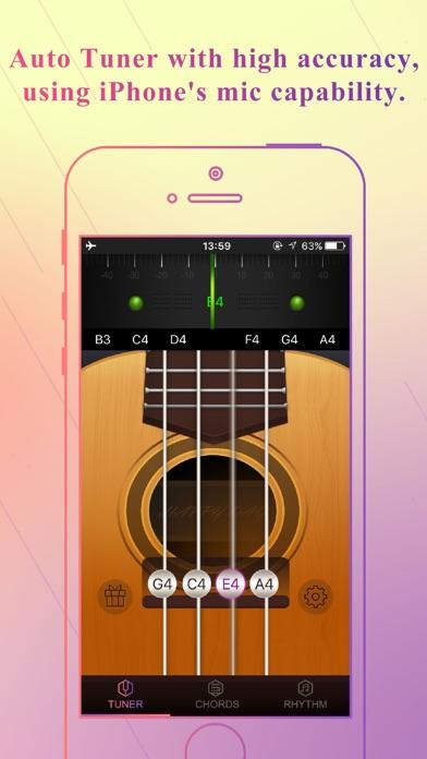 App for Ukulele - Tuner,Tabs & Chords