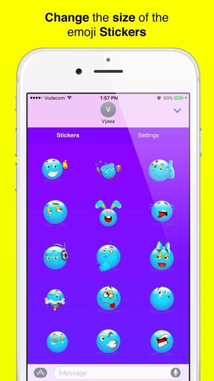 Cool Sticker Emoji for iMessage