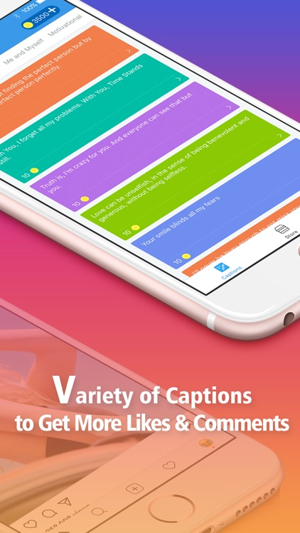 Magic Captions to Get Followers & Likes app image