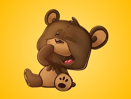 The all-new Teddy bear Stickers pack for iMessage is here