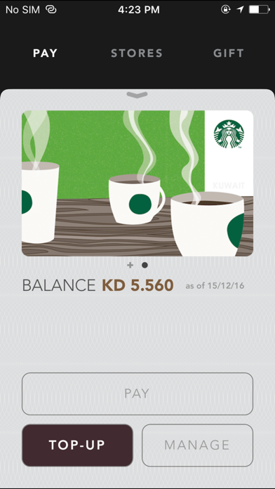 Starbucks Kuwait | App Price Drops