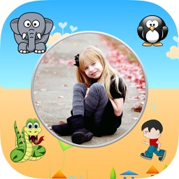 Kids Photo Frames & Childrens Photo Editor Effects