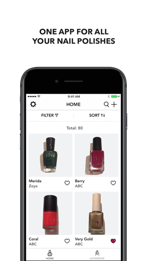 Glossy: Nail Polish + Nail Art Inventory Organizer on the App Store