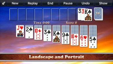 Solitaire City (Ad Free) screenshot for iPhone