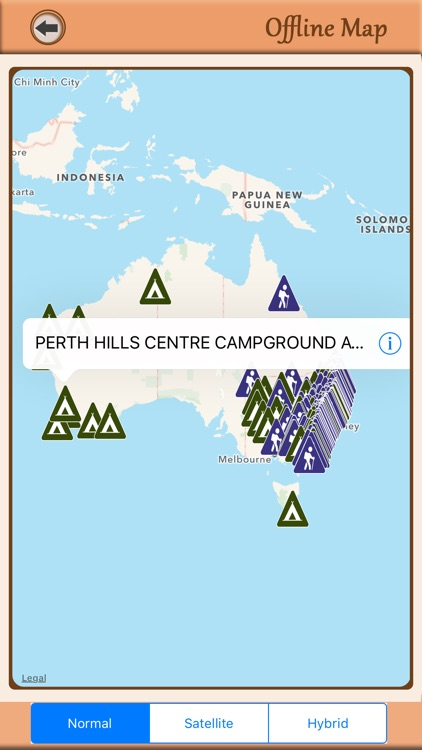 Australia - Campgrounds & Hiking Trails Guide screenshot-3