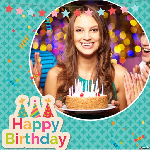 Birthday Photo Frames & Picture Frames Effects