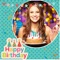 Birthday photo frames for quick download