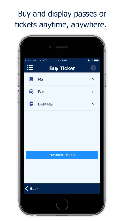 NJ TRANSIT Mobile App