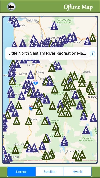 Oregon Camping And National Parks screenshot-4