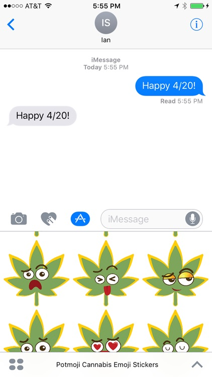 Potmoji Cannabis Emojis screenshot-0