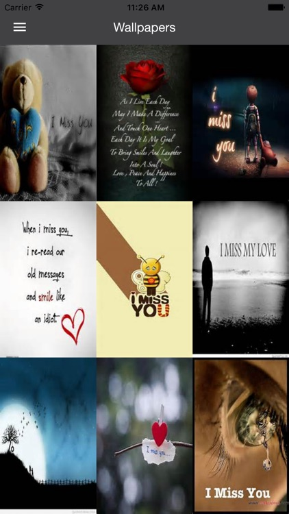 Missing You Wallpapers- I Miss You Quotes & Photos
