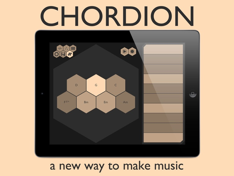 Chordion : Musical Instrument & MIDI Controller