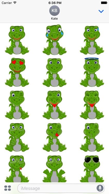 Mr Dino - Funny Stickers screenshot-3