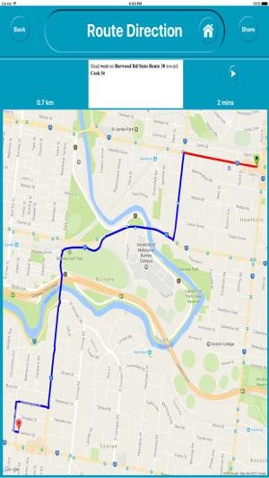 Melbourne Australia Offline City Map Navigation on the App Store on