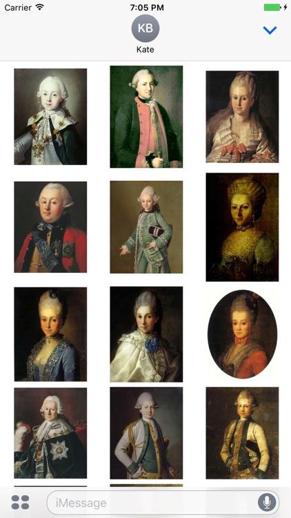 Carl Ludwig Johann Christineck Artworks Stickers