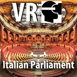 VR Italian Parliament in Rome Virtual Reality 360 app