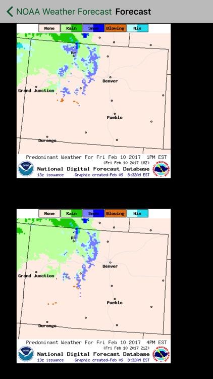 Instant NOAA Weather Pro screenshot-3