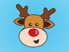 32 Adorably Expressive Reindeer Stickers