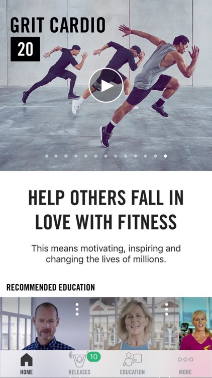 Les Mills Releases