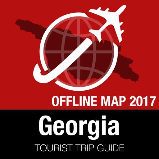 Georgia Tourist Guide + Offline Map