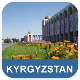 Kyrgyzstan Offline Map - PLACE STARS