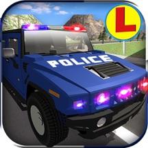 警察 豪华轿车 汽车 驾驶 学校