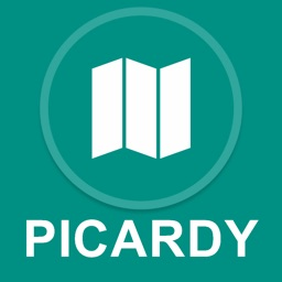 Picardy, France : Offline GPS Navigation