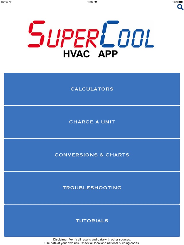 Supercool Slide Rule Hvac On The App Store