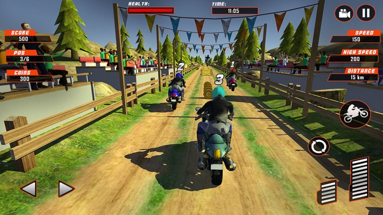 Motor-Bike Racing Endless Race: Crazy Moto Rally screenshot-3
