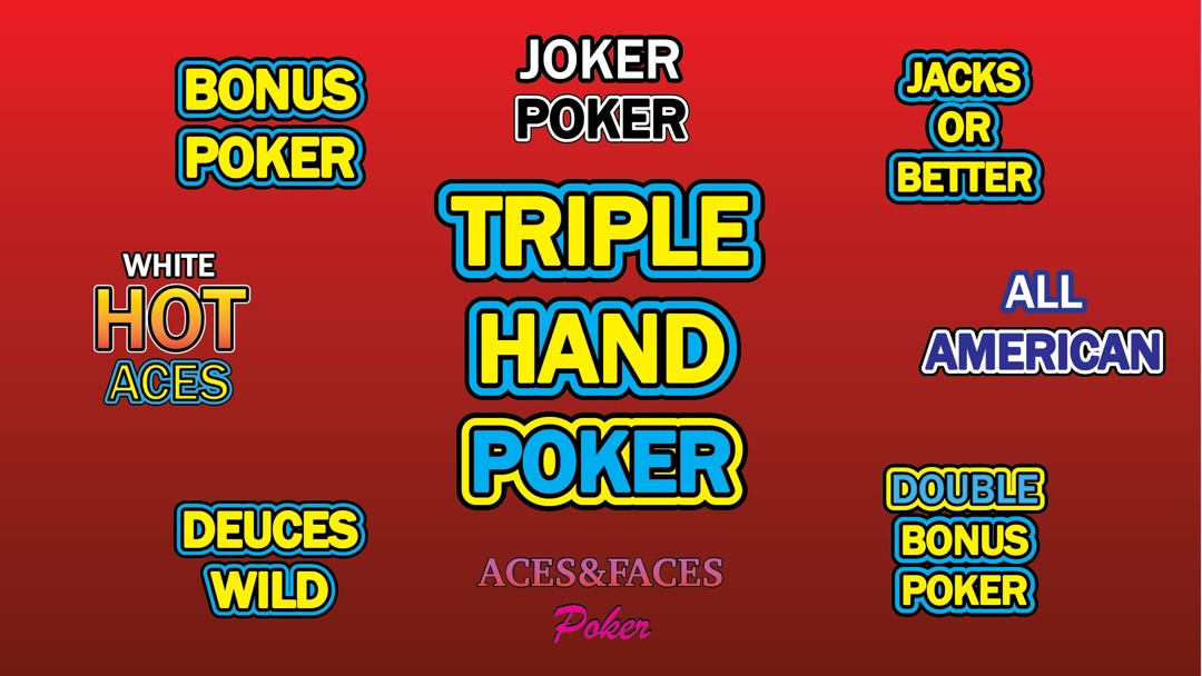 Triple Play Video Poker Online Game Hack And Cheat Gehack Com