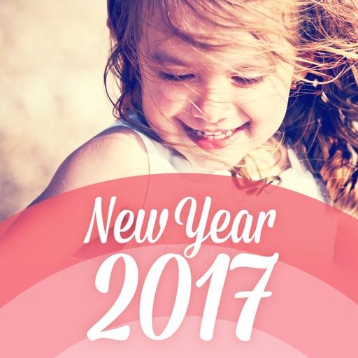 おしゃれ年賀 2017、スマホで写真年賀状を簡単作成