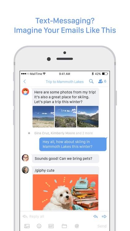 MailTime Pro Email Messenger screenshot-0