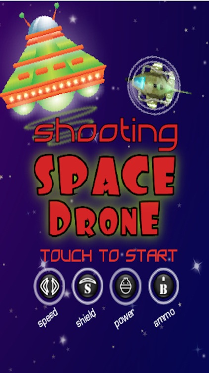 Shooting Space Drone