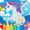 马着色书游戏的孩子2至7岁 最火的网络游戏