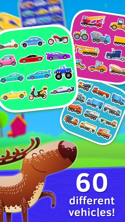 Baby Car Puzzles for Kids Free