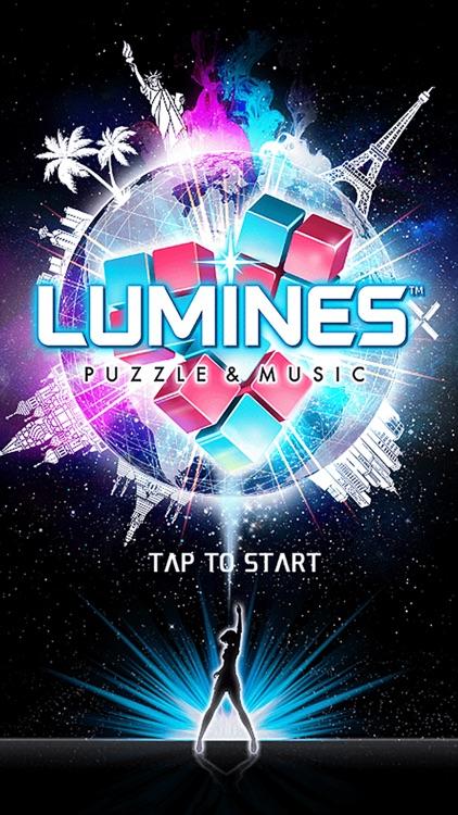 LUMINES PUZZLE & MUSIC screenshot-0