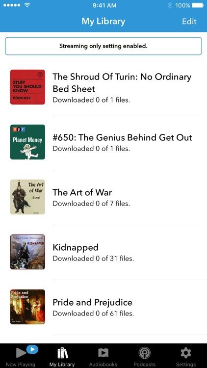 Audiobooks screenshot-3