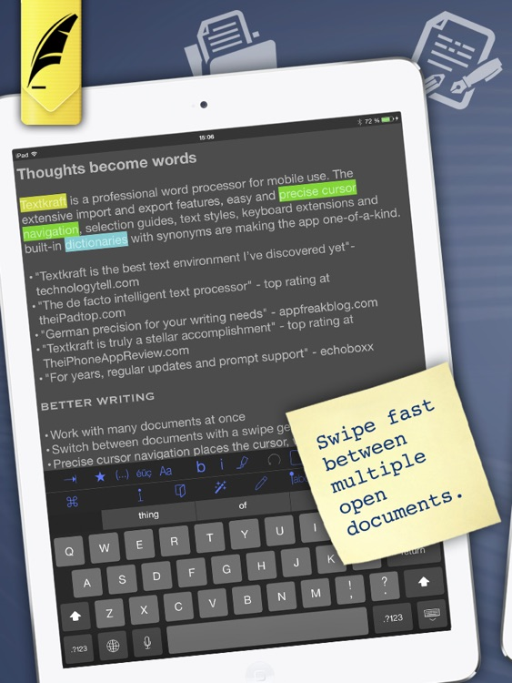 Textkraft English - Write, Research & Correct