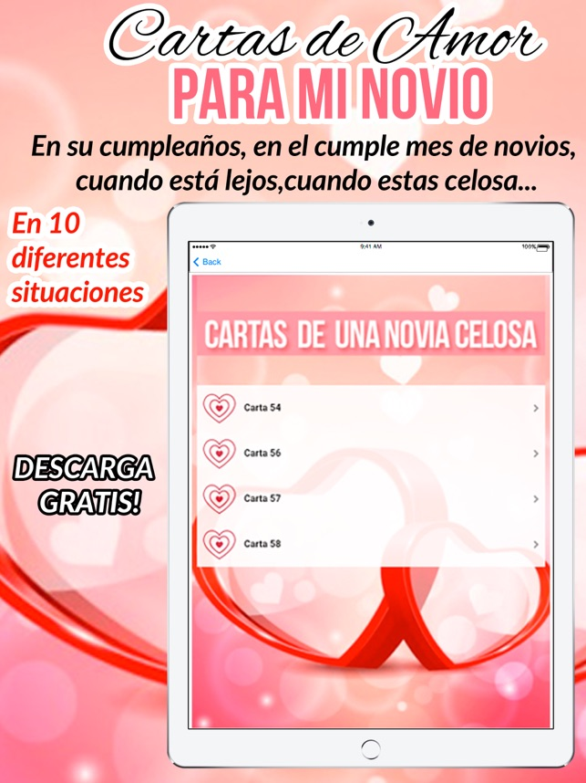 Cartas De Amor Para Mi Novio On The App Store