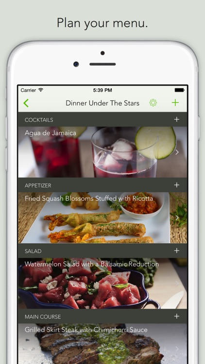 BigNight - Perfect Dinner Party Planner