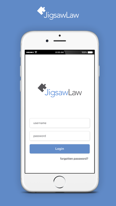 Jigsaw Law screenshot one