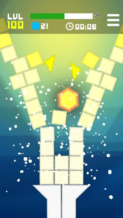 Hexagon Crush the Blocks screenshot-3