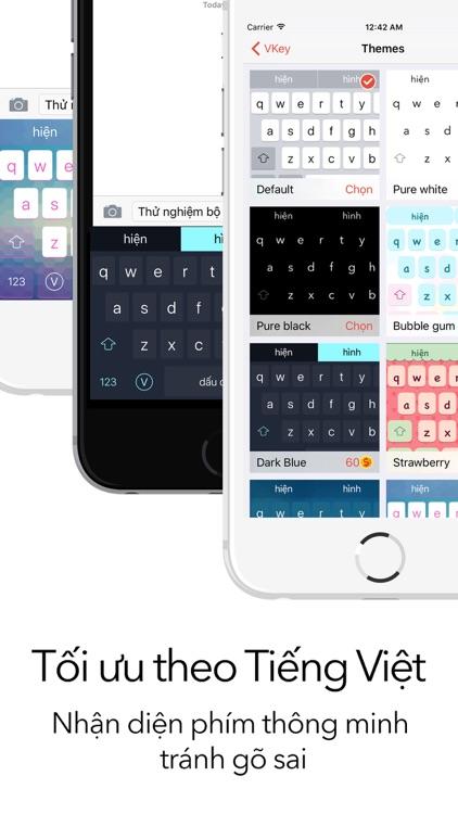 VKey - Gõ Tiếng Việt với Swipe-to-type screenshot-3