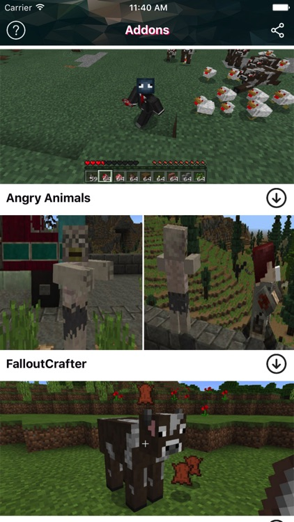 Sprite Style Addons for Minecraft PE