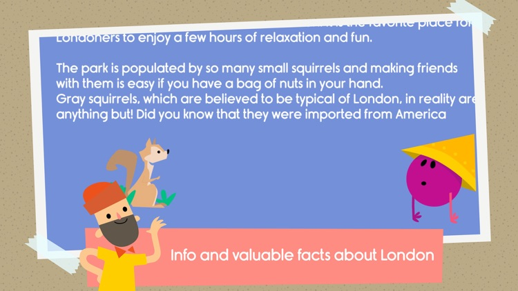 Traveling with Arthur - London city guide for kids screenshot-4