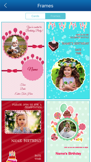 Birthday invitation card maker hd on the app store stopboris Choice Image