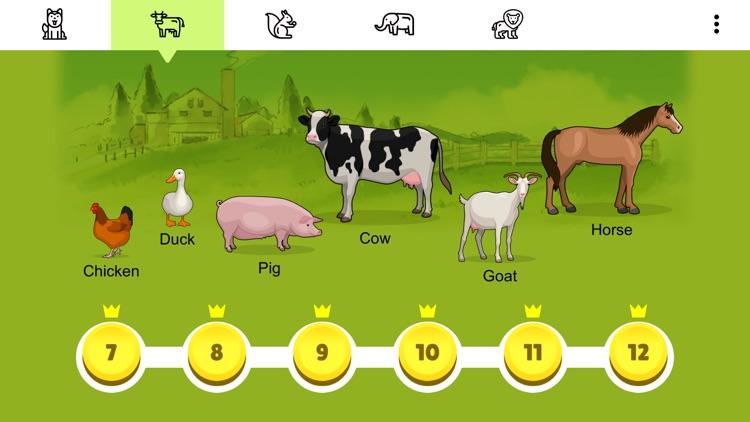 Animal Card Matching screenshot-4