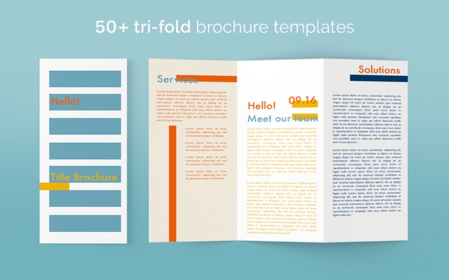 Brochure Templates Brochures For Pages On The Mac App Store - Brochure templates for mac
