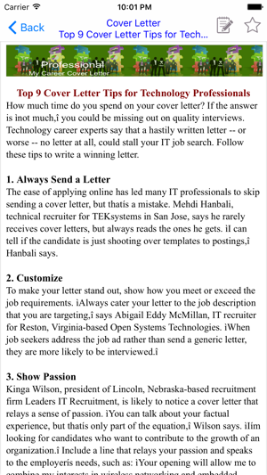 how do you make a cover letters